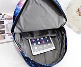 Шкільний рюкзак космос Галактика, фото 4