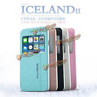Original защита KLD Iceland II Series PU кожаный телефон Чехол задняя крышка для Ipone 6