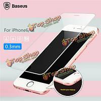 Baseus 0.3мм 9h гибкий клей бордюры оTPUщенной защита экрана стеклянная пленка для iPhone 6 6s