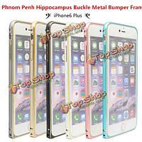 Пномпень гиппокампа пряжка металлическая рамка бампер для iPhone 6 Plus