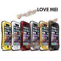 LoveMei тонкая талия авиационного алюминиевого сплава чехол для iPhone 6 Plus