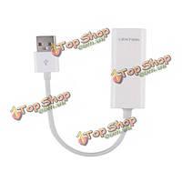 Lention USB 2.0 Ethernet LAN проводной сети USB адаптер для MacBook Tablet воздуха настольных ПК