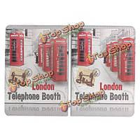 Лондон телефонная будка кожаный чехол для iPad mini