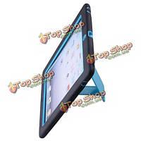 Двухслойный защитный чехол с подставкой для нового iPad случайные отгрузки