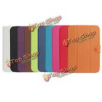 Чистый цвет стиль ноутбука с кнопкой кожаный чехол для iPad mini