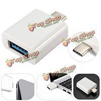 Мужчина типа c USB 3.1 к адаптеру женщины USB 3.0 для macbook 12inch nokia n1