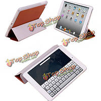 Три раза Фолио PU кожаный складной чехол для iPad mini планшетный ПК