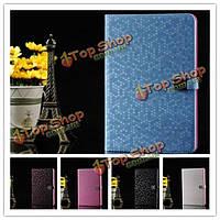 Luxury Diamond Grain стиль красочные PU кожаный чехол для iPad mini