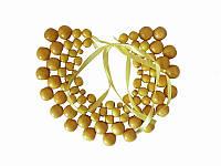 Колье Мелания желтое (Украинская бижутерия)