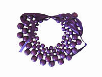 Колье Мелания фиолетовое (Украинская бижутерия)