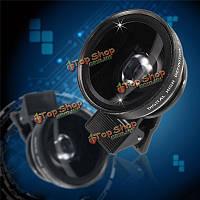 Универсальный 0.45X широкоугольный 12.5X макро HD 2в1 объектив камеры для iPhone мобильных телефонов