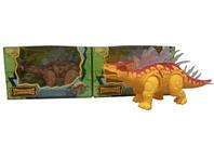 Игрушка динозавр 6638: свет, звук, работа от 3-х батареек АА, коробка 26х11х16 см