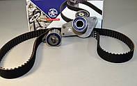 Комплект натяжитель + ремень ГРМ на Renault Kangoo 1997->2008 1.9D  —  HH KH 12