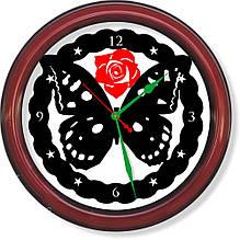 Настенные часы  Бабочка
