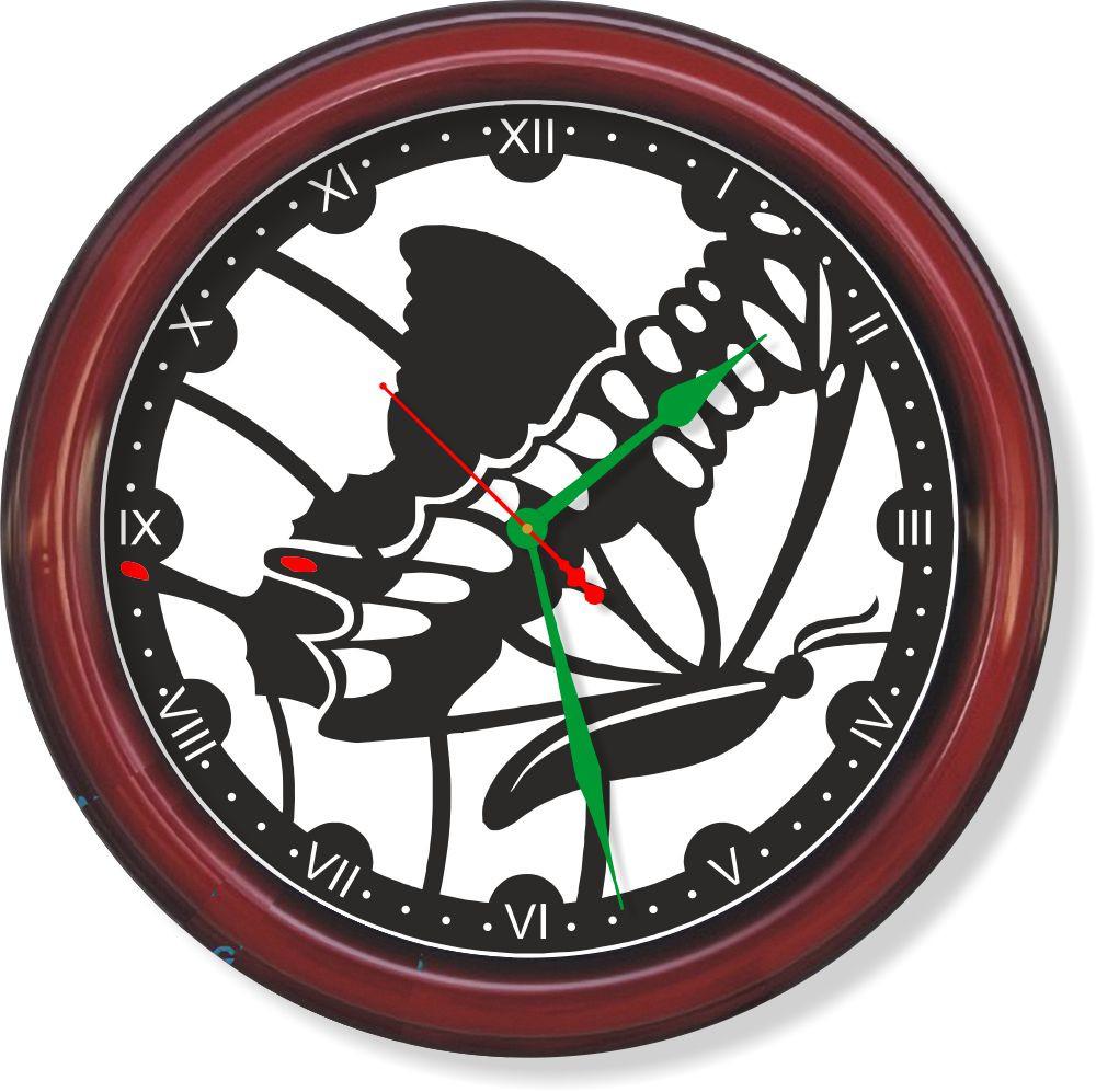 Настенные часы  Бабочка 2