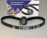 Комплект натяжитель + ремень ГРМ на Renault Kangoo 2001->2008  1.2i 16V  — Hutchinson - HH KH 236, фото 2