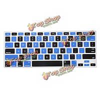США водонепроницаемый силиконовые клавиатуры кожи защита для MacBook 13 15 17