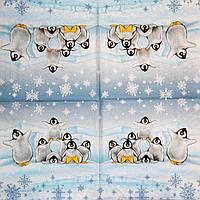 Декупажные салфетки пингвины 1230