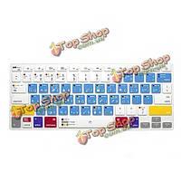Анти-пыль водонепроницаемый кремния нам клавиатуры Обложка кожи для MacBook Pro