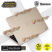 Baseus ультратонкое матовое стекло заморозил прозрачное прикрытие очевидного случая для Apple MacBook 12-дюймов