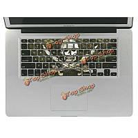 Съемный 3D эффект винила клавиатуры кожи наклейка для Macbook Pro 13 дюймов