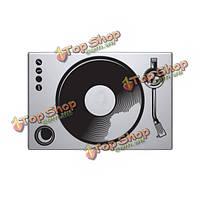 DJ поворотный круг шаблон винил стикера крышки ноутбука кожи для воздуха Apple Macbook PRO сетчатка 13-дюймов