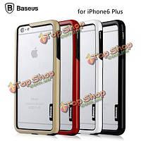 Baseus TPU+PC Пьером бампер рама кейс защитный чехол для Apple iPhone 6 Plus 6s Plus 5.5-дюйма