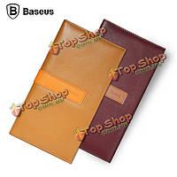 Для iPhone 6с Plus Baseus кожаный бумажник карты карман крышка случая Flip сумка 5.5-дюймов случай телефона