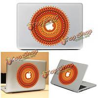 Яркий цветочный пропуск ноутбук кожи стикер винила стикер пропуск для MacBook 11'' 12'' 13'' 15'' 17''
