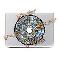 Синий мультфильм тотем ноутбук кожи деколь стикер винила стикер пропуск для MacBook 11'' 12'' 13'' 15'' 17'