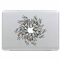 Модно цветок винил кожи наклейка Наклейка кожного покрова ноутбук для Air Pro Apple MacBook