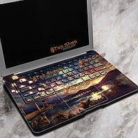 Город PAG под небо ноутбук Декаль наклейки пузырь свободной самоклеящиеся для Macbook Air 13 дюймов