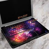 PAG фиолетовый звездное небо ноутбук Декаль наклейки беспузырьковый самоклеящаяся для Macbook Air 13-дюймов