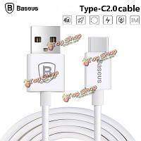 Baseus Type-C 2.0 кабель синхронизации Дата зарядки Type-C кабель для MacBook Nokia N1 Google Nexus 5