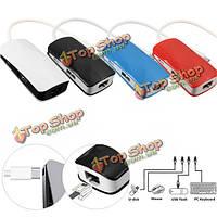 USB 3.1 Type-C с RJ45 Ethernet сети + Micro-USB + 2-портовый адаптер 2.0 хаб для нового MacBook ноутбука