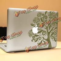 PAG большое дерево декоративное ноутбука Наклейка съемный пузырь бесплатно самоклеящиеся наклейки частичное цвет кожи