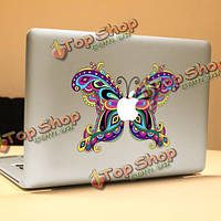PAG бабочки декоративные ноутбука Наклейка съемный пузырь бесплатно самоклеящиеся наклейки частичное цвет кожи
