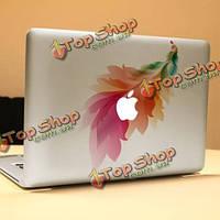 PAG перо декоративный ноутбука Наклейка съемный пузырь бесплатно самоклеящиеся наклейки частичное цвет кожи