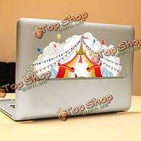 PAG цирк декоративный ноутбука Наклейка съемный пузырь бесплатно самоклеящиеся наклейки частичное цвет кожи