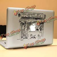 PAG магазин декоративная ноутбука Наклейка съемный пузырь бесплатно самоклеящиеся наклейки частичное цвет кожи
