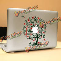 PAG зеленое дерево декоративное ноутбука Наклейка съемный пузырь бесплатно самоклеящиеся наклейки кожи