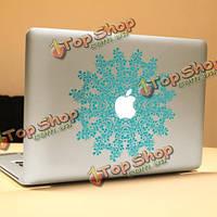 PAG цветок кольцо декоративные ноутбука Наклейка съемный пузырь бесплатно самоклеящиеся наклейки кожи