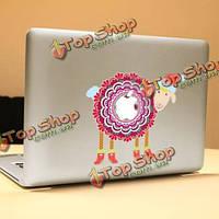 PAG зима Sheep декоративные ноутбука Наклейка съемный пузырь бесплатно самоклеящиеся наклейки кожи