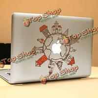 PAG земля декоративные ноутбука Наклейка съемный пузырь бесплатно самоклеящиеся наклейки частичное цвет кожи