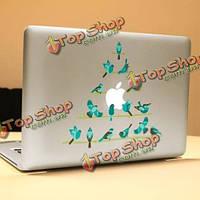 PAG птичка декоративные ноутбука Наклейка съемный пузырь бесплатно самоклеящиеся наклейки кожи