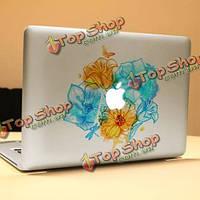PAG милые декоративные цветущие кусты ноутбука Наклейка съемный пузырь бесплатно самоклеящиеся наклейки кожи