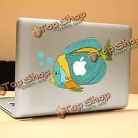 PAG рыбка декоративные ноутбука Наклейка съемный пузырь бесплатно самоклеящиеся наклейки кожи