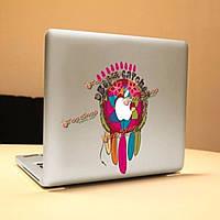 Индийская перья тонкие виниловые наклейки наклейка цифровой Обложка кожи для ноутбука Apple MacBook