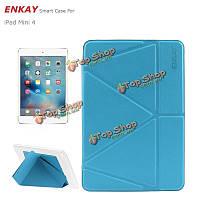 Enkay PU + TPU умный защиты трансформаторов с корпусами для поддержки iPad Mini 4