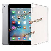 Ultra тонкий мягкий прозрачный TPU Защитный чехол задняя крышка для iPad mini4